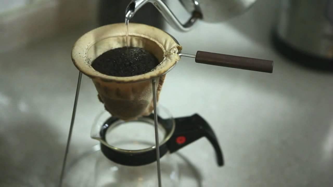 Hario woodneck coffee drip pot - Hario Woodneck Coffee Drip Pot 36