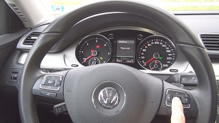 Volkswagen Passat 2.0 TDI BlueMotion (2014) Interior review