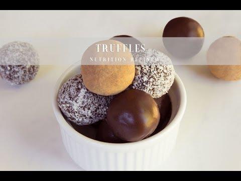 Raw Truffles (Cacao, Acai-Coconut & Chocolate Truffle) | Vegan, Paleo