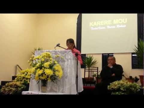Resisting Temptation - Sermon by Sis. Nooroa Rakoia