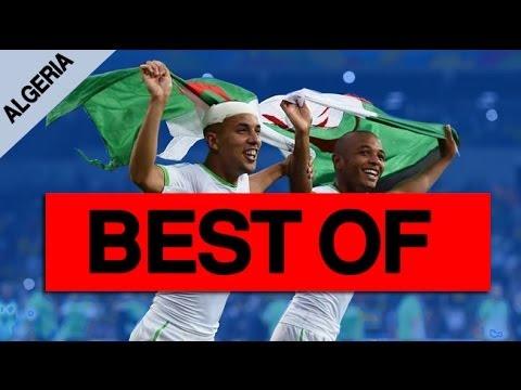 Algeria Best Moment World Cup 2014 ● أفضل لحظات الجزائر في المونديال