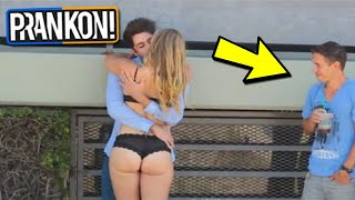 ULTIMATE KISSING PRANK😲🔥Try Not To Laugh Or Grin Impossible Challenge