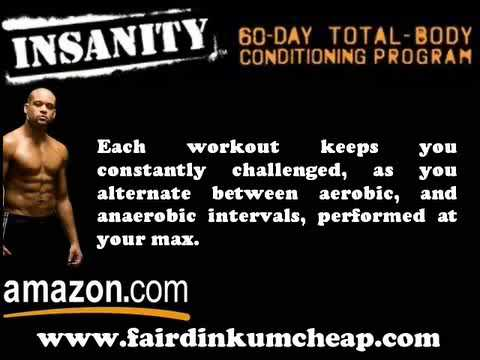 Insanity 60-Day Total Body Conditioning Program Review