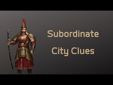 Evony The King's Return - Subordinate City Clues