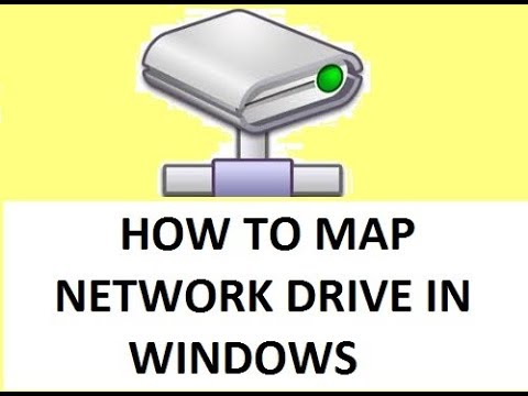 How To Map Network Drive In Computer Network