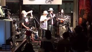 2018年6月23日(土) 神戸Mosrite Cafeでの様子 THE SCREEN TONES 久住...