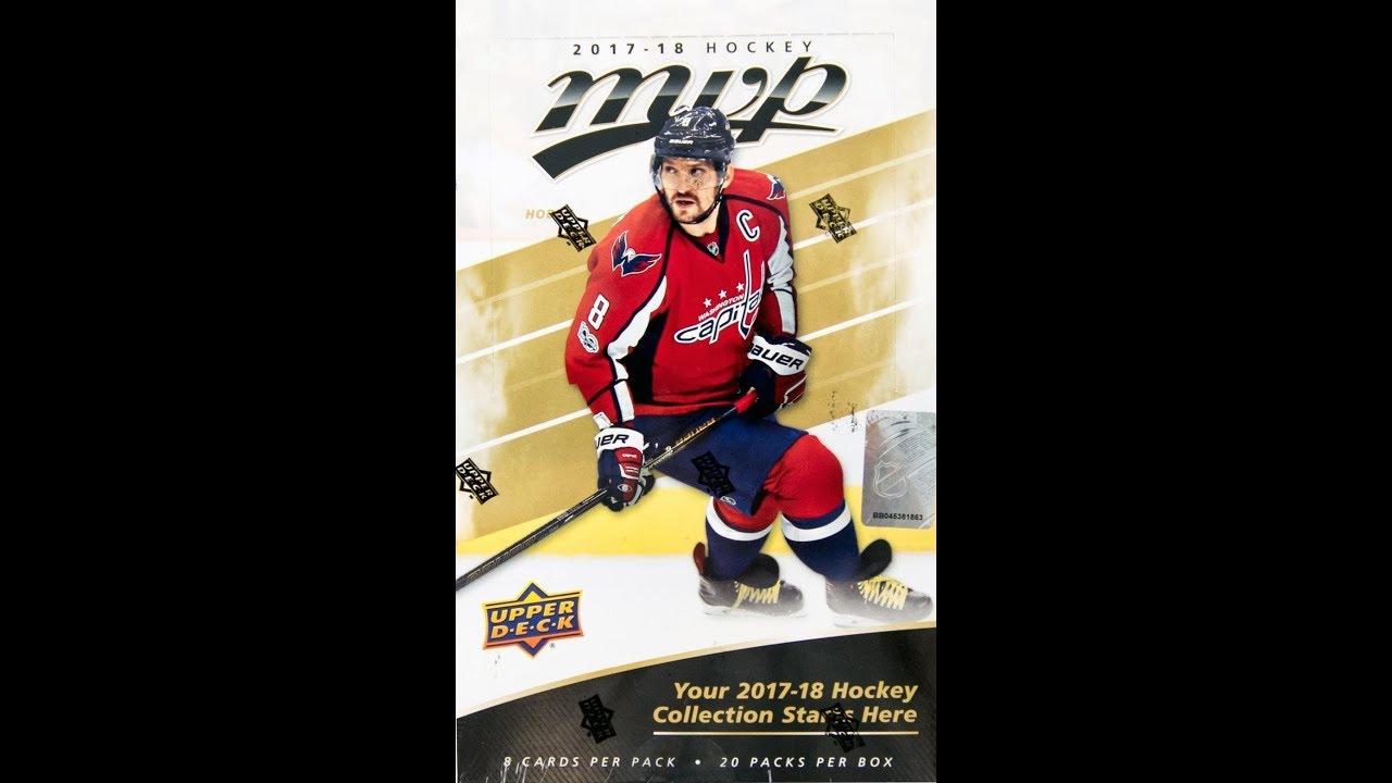 c553028d191 2017-18 Upper Deck MVP Hockey Checklist, Team Set Lists, Release Date