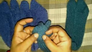 Easy Woolen Thumb Socks | Hindi