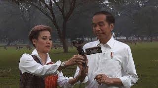 Apa Makna di Balik Sepeda, Vlog, dan Gebuk ala Jokowi? - ROSI