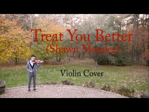Treat You Better (Shawn Mendes) – Violin Cover
