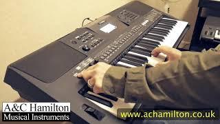 Yamaha PSR-E463 Demo Overview - A&C Hamilton