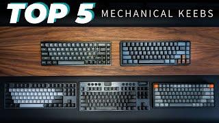 BEST Mechanical Keyboards in 2021 - LEVEL UP Your Desk Setup!