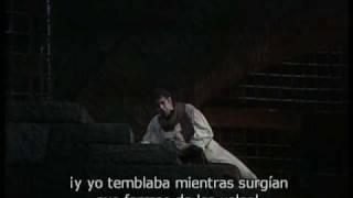 E Lucevan le Stelle. Placido Domingo. Tosca.