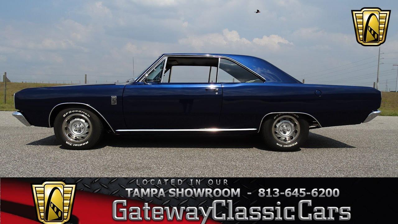 936 Tpa 1967 Dodge Dart Gt Mopar V8 340 Cid 3 Spd Auto Youtube