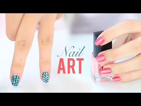 easy nails art dise os de u as f ciles y r pidos youtube. Black Bedroom Furniture Sets. Home Design Ideas