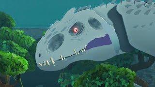 LittleBigPlanet 3 - Jurassic World Park Tour - Super Giant Indominus Rex T Rex & Mosasaurus