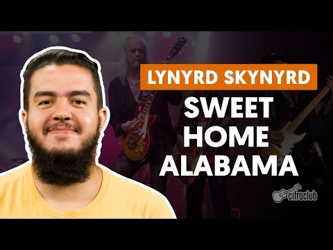 Sweet Home Alabama - Lynyrd Skynyrd (aula de guitarra)