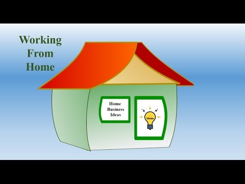 Home Business Ideas And Working From Home Youtube