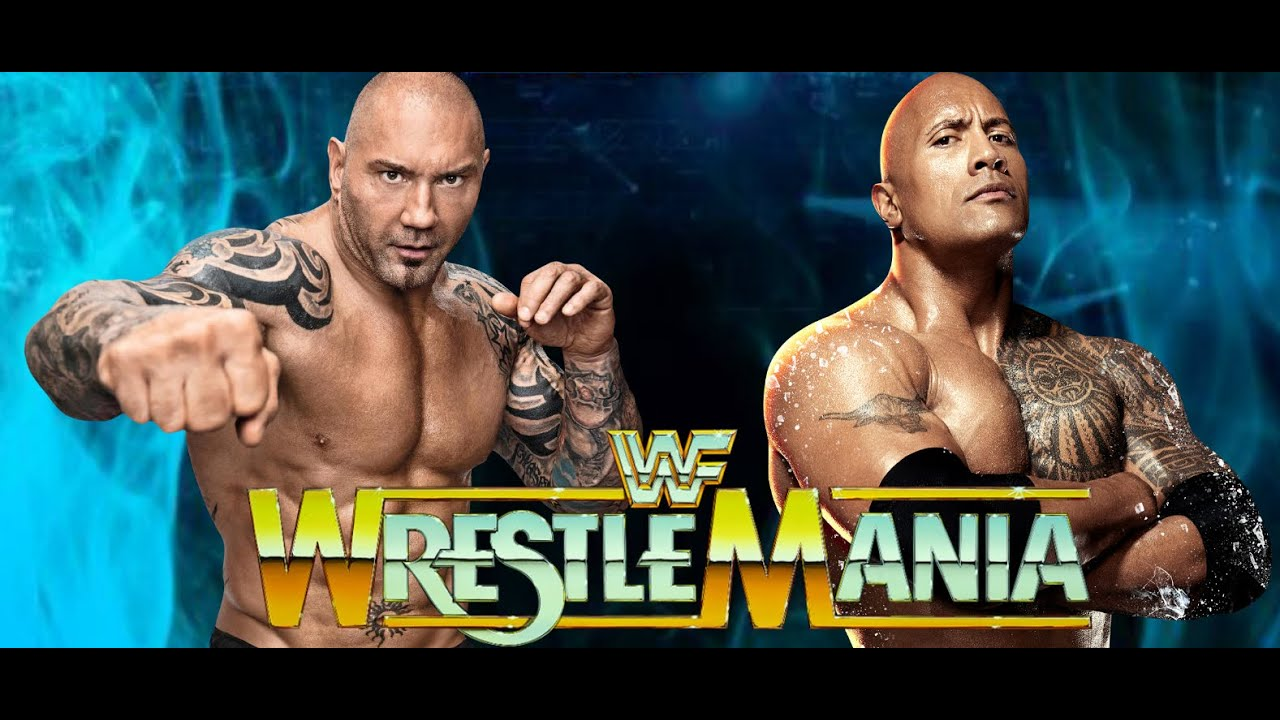 shocking wwe update batista vs the rock wrestlemania 32