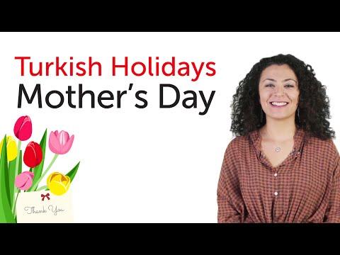 Turkish Holidays - Mother's Day - Anneler Günü