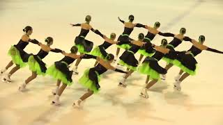 Чемпионат России по синхронному катанию  1 спортивный разряд  ПП 8 Олимпийский Юнитис МОС