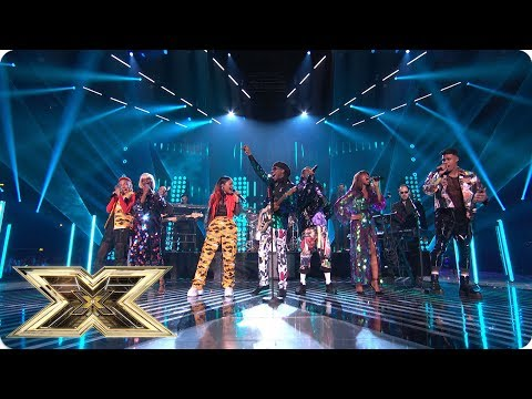 Nile Rodgers and Chic funk up the Final | Final | The X Factor UK 2018