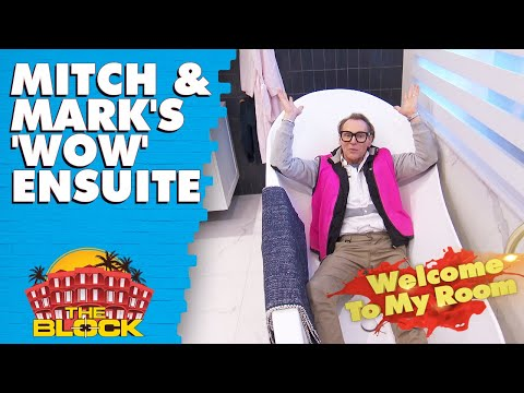 Mitch and Mark's luxurious master wing | The Block 2019