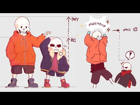 Sans - Try Not To Laugh Challenge Part 26 【 Undertale Comic Dub Compilation 】