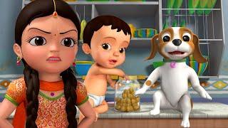 Mere Ghar Me Milta Hai Pyaar | Hindi Rhymes for Children | Infobells