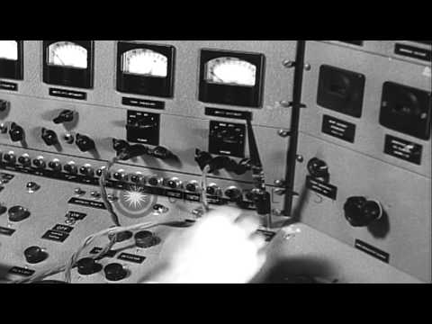 Lawrence is awarded the Nobel Prize for his work on the cyclotron and its applica...HD Stock Footage