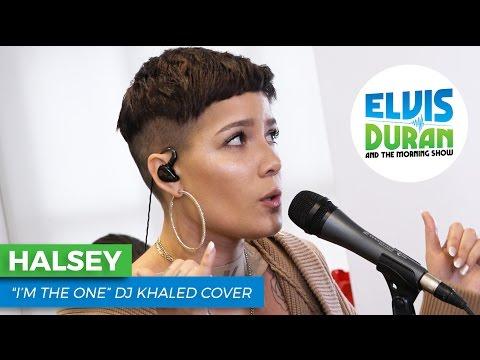 "Halsey - ""I'm The One"" DJ Khaled Cover | Elvis Duran Live"