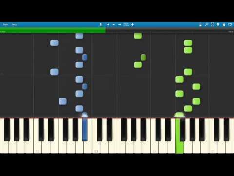 Sarabande | in a Time Lapse - Ludovico Einaudi ( MIDI / Synthesia / Tutorial )