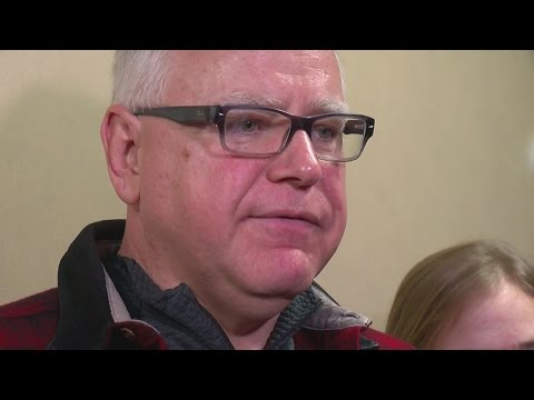Congressman Tim Walz Announces Run For Governor