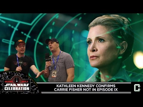 Carrie Fisher Won't Appear in Episode IX - Collider News Live from Star Wars Celebration 2017