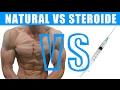 Studie Natural vs. Steroide - Muskelaufbau ohne Training - Testosteron Enantat