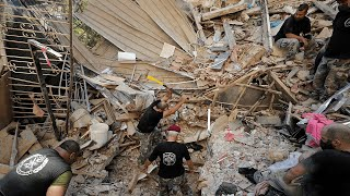 video: Dispatch: The desperate search for bodies in rubble-strewn Beirut continues