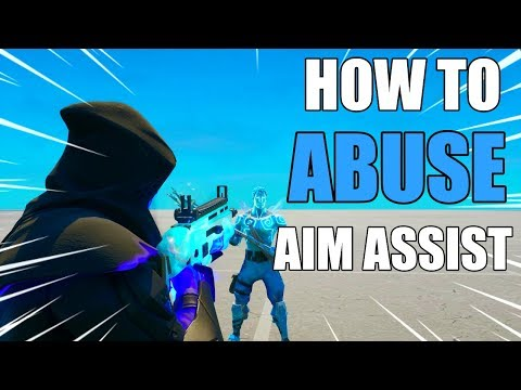 HOW TO *ABUSE AIM ASSIST* IN FORTNITE CHAPTER 2! FORTNITE HOW TO AIM BETTER CHAPTER 2!