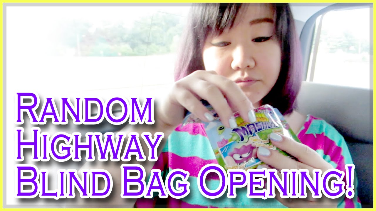 Random Highway Blind Bag Opening Youtube