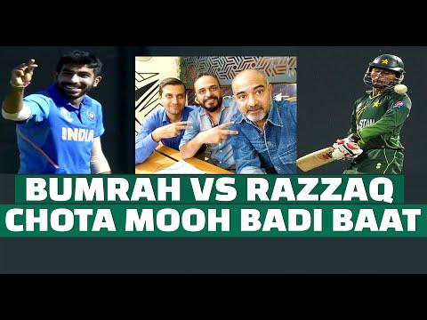 Bumrah vs Razzaq
