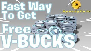 Uma maneira rápida de obter V-Bucks grátis em Fortnite