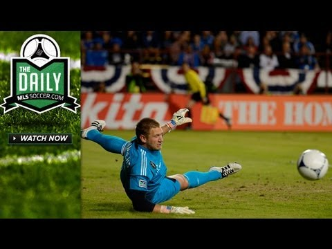 Saunders vs Hall, Americans in Mexico, Best Goals and Saves - The Daily 11/26