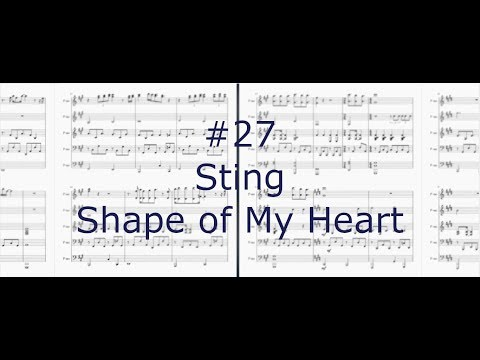 Sting - Shape Of My Heart (Piano Cover) - Jarosz Team