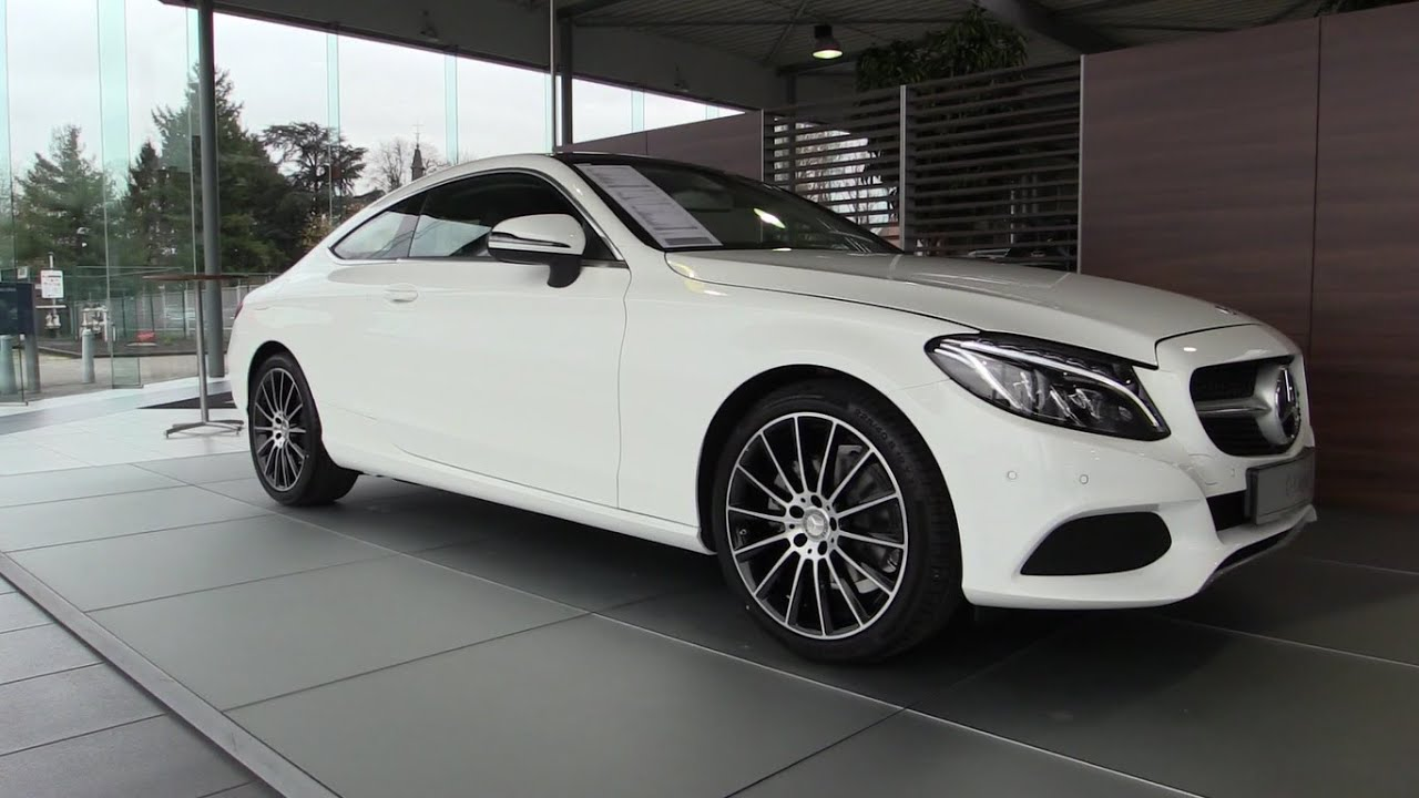 MercedesBenz C Class Coupe 20162017 In Depth Review Interior