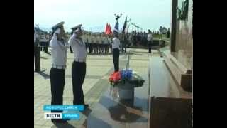 Гостям продемонстрировали мощь военно-морской базы Новороссийска