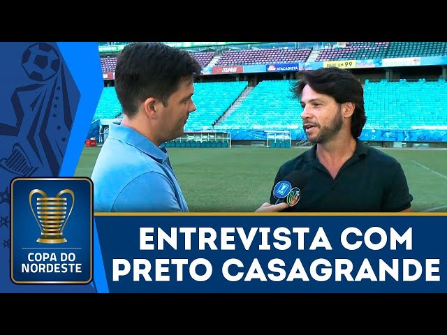 Tetracampeão da Copa do Nordeste, Preto Casagrande relembra gol histórico