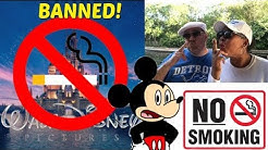 No Smoking  at Disney World & Large Strollers Banned! LIVE!