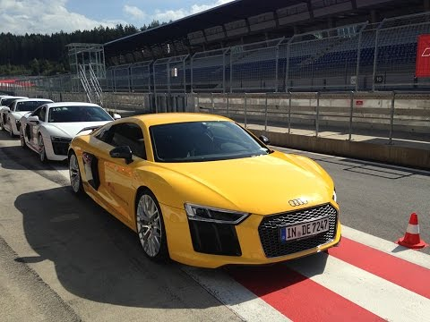 R8/RS6/RS3 Audi Driving Experience 2015: Red Bull Ring, Austria
