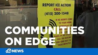 immigrant communities on edge ahead of planned ice raids