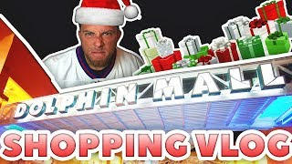 Holiday Shopping Vlog! Dolphin Mall Miami