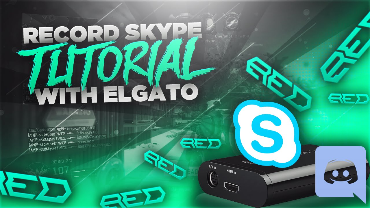 How to Record Skype/Discord Audio with your Elgato Game Capture! (Tutorial)